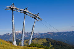 Ski lift Stock Photography