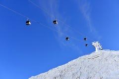 Ski lift Royalty Free Stock Photo