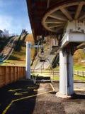 Ski lift in Lake Placid Stock Images