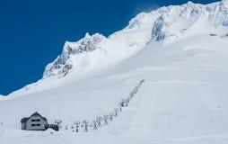 Ski-Lift in Mt. Hood Stock Images
