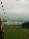 Ski lift Oberstdorf in summer Stock Image