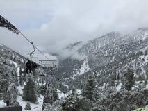 Ski Lift-Paradies Stockfotografie