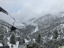 Ski Lift-paradijs stock fotografie