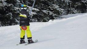 Ski lift ride Royalty Free Stock Images