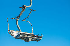 Ski lift seat Stock Photos
