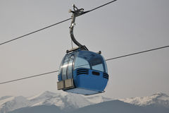 Ski lift Stock Image