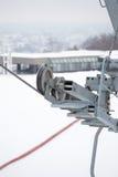 Ski Lift Technology Imagenes de archivo