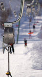 Ski lift - Two Stock Images