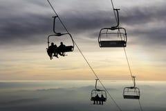 Ski lift1 Royalty Free Stock Photography