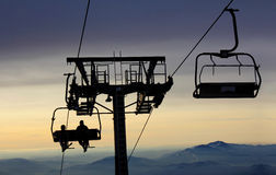 Ski lift3 Stock Photography