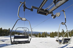 Ski Lifts at Mount Hood Stock Photography