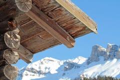 Ski_lodge foto de stock