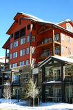 Ski Lodge. A ski lodge in Winter Park, Colorado Royalty Free Stock Photos