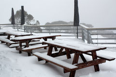 A ski lodge in Australia Royalty Free Stock Image