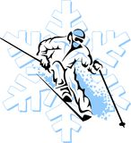 Ski Man Photos stock