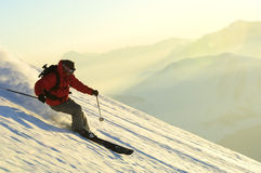 Ski man Royalty Free Stock Photo