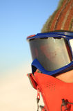 Ski man Stock Images