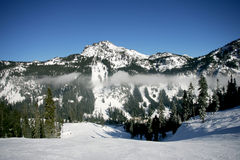 Ski Mountain Stock Photography