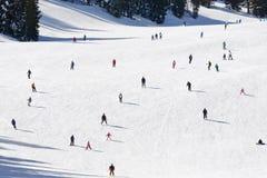 Ski mountain stock image