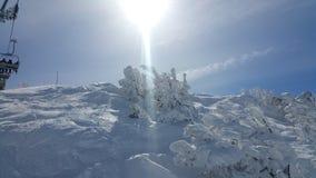 Ski Mountain Royalty-vrije Stock Foto's