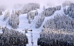 Ski mountain at Canada Stock Photos