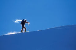 Ski mountaineer Stock Photos