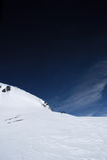 Ski mountaineering Stock Photos