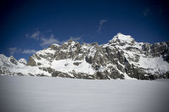 Ski mountaineering Royalty Free Stock Images