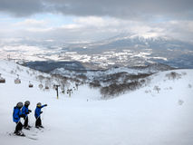 Ski in Nesiko, Hokkaido Lizenzfreie Stockfotografie