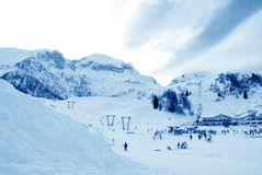 ski park Obrazy Stock