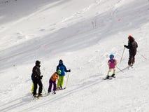 Ski partol Royalty Free Stock Image