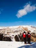 Ski partol Stock Images