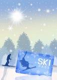Ski pass Royalty Free Stock Photo
