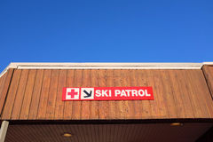 Ski Patrol Station Royalty Free Stock Photos