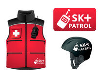 Ski patrol uniform Royalty Free Stock Images