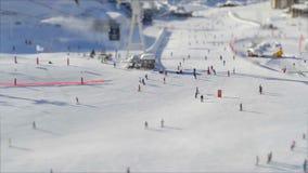 Ski Piste stock video