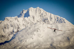 Ski Plane, Alaska Royalty Free Stock Photography