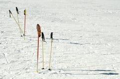 Ski poles Stock Photos