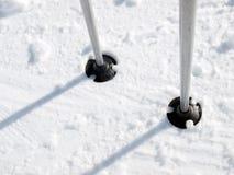 Ski poles Royalty Free Stock Photos