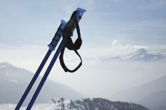Ski poles Stock Photo