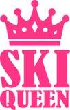 Ski Queen ilustração do vetor