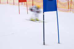 Ski race Royalty Free Stock Images
