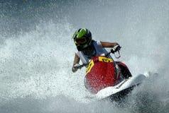 Ski Race-20 d'avion à réaction Image libre de droits