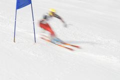 Ski racer Stock Photography