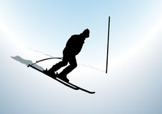 Ski Racer Royalty Free Stock Images