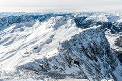 Ski region Royalty Free Stock Photos