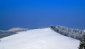 Ski Resort. Bukovel Carpathians Ukraine Royalty Free Stock Photos