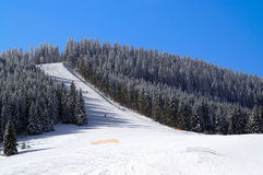 Ski Resort. Bukovel Carpathians Ukraine Royalty Free Stock Photo
