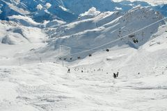 Ski resort Stock Images