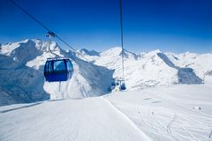Ski resort Stock Image